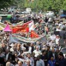 Iran- Unterdrückung der Proteste  durch das Regime