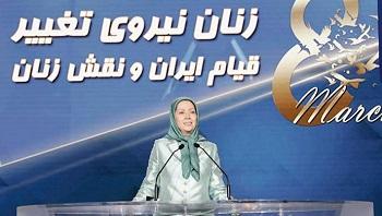 Maryam Rajavi drängt zur Unterstützung der Aufstände und Freilassung von Inhaftierten