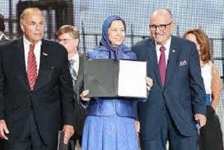 Rudy Giuliani : Festigkeit gegenüber dem Iran