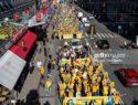 العربیه: تظاهرات بزرگ مخالفان رژیم ایران در استکهلم برای همبستگی با مردم ایران