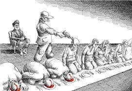 نمایش انتخابات مجلس در سایه سرکوب خونین قیام