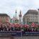Protestdemo gegen  Javad Zarif an der Münchner Sicherheitskonferenz